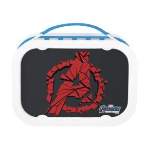 Avengers: Endgame | Shattered Avengers Logo Lunch Box