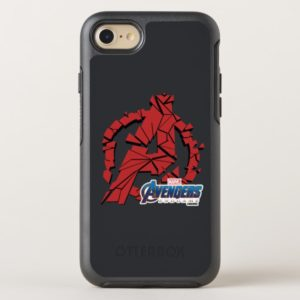 Avengers: Endgame | Shattered Avengers Logo OtterBox iPhone Case