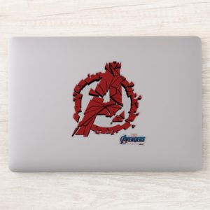 Avengers: Endgame | Shattered Avengers Logo Sticker