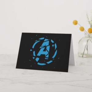 Avengers: Endgame | Splintered Avengers Logo Card