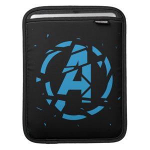 Avengers: Endgame | Splintered Avengers Logo iPad Sleeve