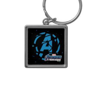 Avengers: Endgame | Splintered Avengers Logo Keychain