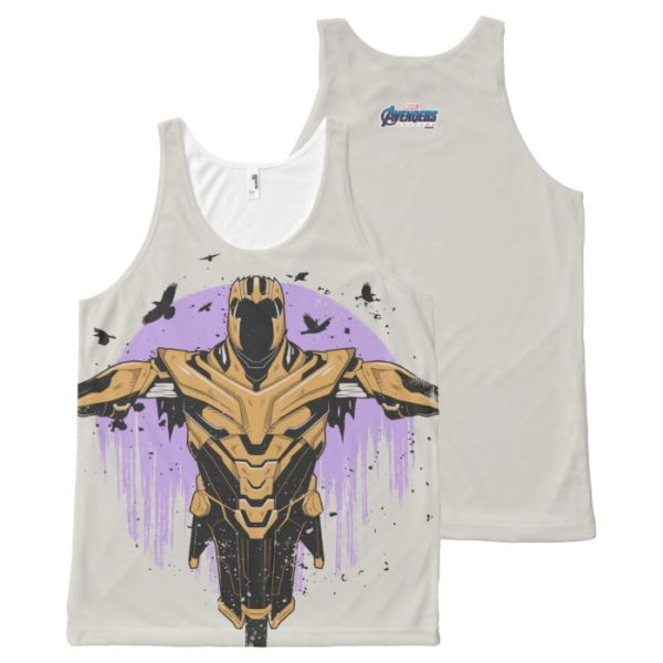 Avengers: Endgame | Thanos Armor Graphic All-Over-Print Tank Top
