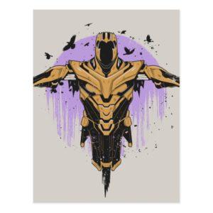 Avengers: Endgame | Thanos Armor Graphic Postcard