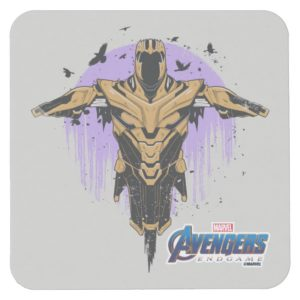 Avengers: Endgame | Thanos Armor Graphic Square Paper Coaster
