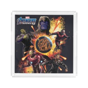 Avengers: Endgame | Thanos & Avengers Fire Graphic Acrylic Tray