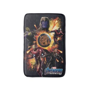 Avengers: Endgame | Thanos & Avengers Fire Graphic Bath Mat