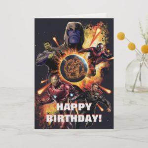Avengers: Endgame | Thanos & Avengers Fire Graphic Card