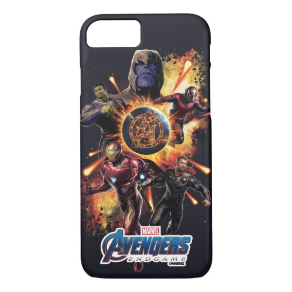 Avengers: Endgame | Thanos & Avengers Fire Graphic Case-Mate iPhone Case