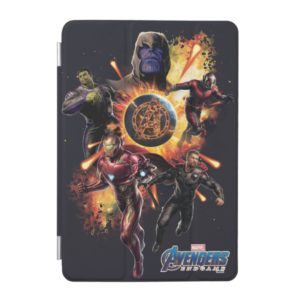 Avengers: Endgame | Thanos & Avengers Fire Graphic iPad Mini Cover