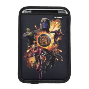 Avengers: Endgame | Thanos & Avengers Fire Graphic iPad Mini Sleeve