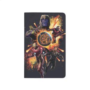 Avengers: Endgame | Thanos & Avengers Fire Graphic Journal