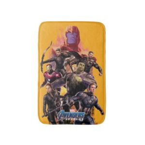 Avengers: Endgame | Thanos & Avengers Run Graphic Bath Mat