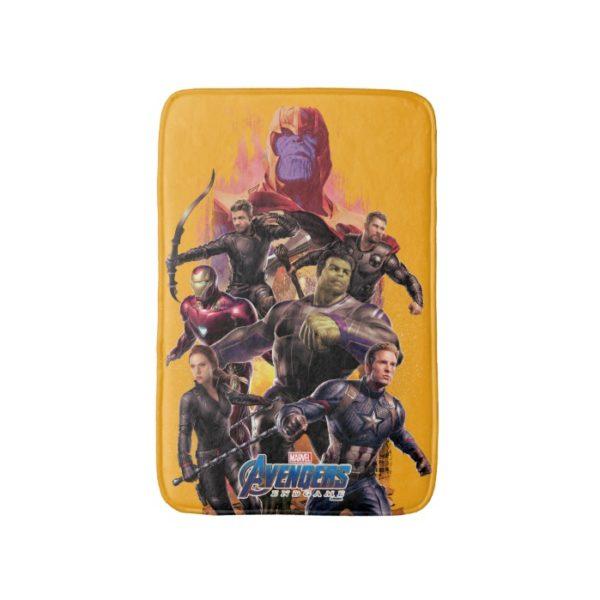 Avengers: Endgame | Thanos & Avengers Run Graphic Bath Mat