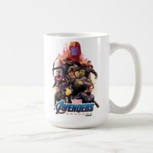 Avengers: Endgame | Thanos & Avengers Run Graphic Coffee Mug