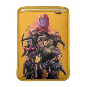 Avengers: Endgame | Thanos & Avengers Run Graphic MacBook Air Sleeve