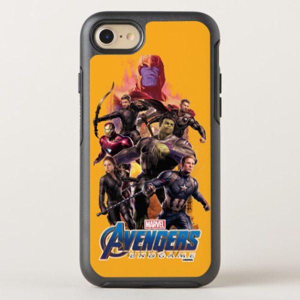 Avengers: Endgame | Thanos & Avengers Run Graphic OtterBox iPhone Case