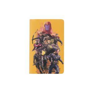 Avengers: Endgame | Thanos & Avengers Run Graphic Pocket Moleskine Notebook