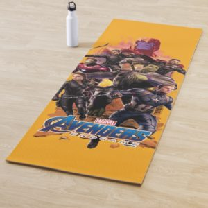 Avengers: Endgame | Thanos & Avengers Run Graphic Yoga Mat