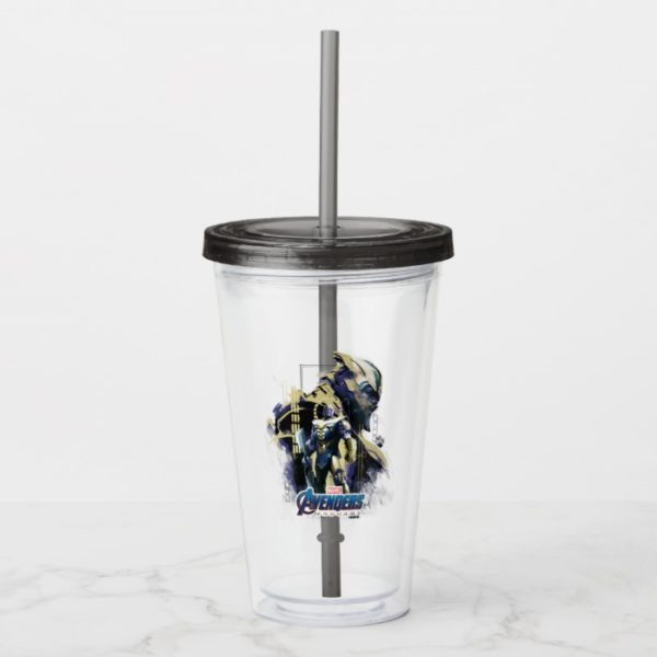 Avengers: Endgame | Thanos Character Graphic Acrylic Tumbler