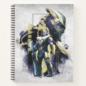 Avengers: Endgame | Thanos Character Graphic Notebook