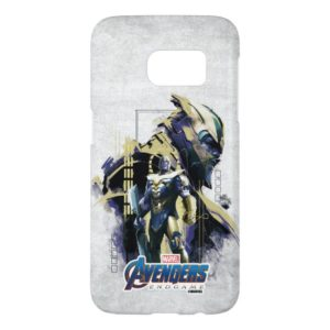 Avengers: Endgame | Thanos Character Graphic Samsung Galaxy S7 Case