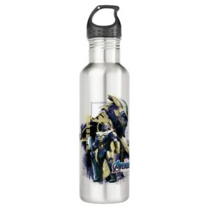 Avengers: Endgame | Thanos Character Graphic Stainless Steel Water Bottle