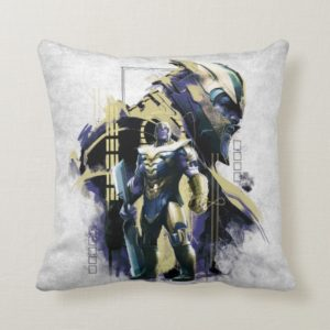 Avengers: Endgame | Thanos Character Graphic Throw Pillow