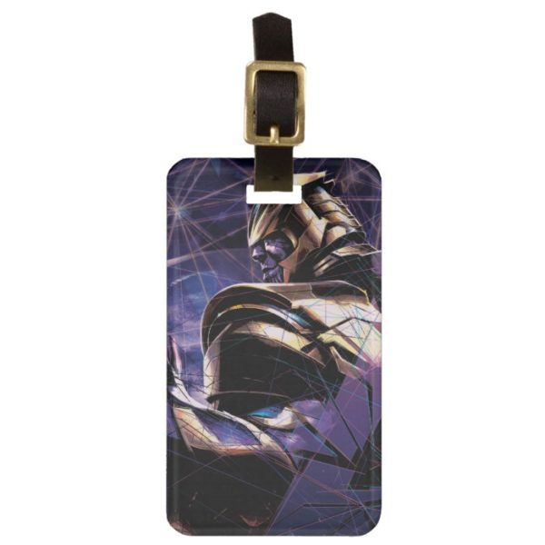 Avengers: Endgame | Thanos Fractured Graphic Bag Tag