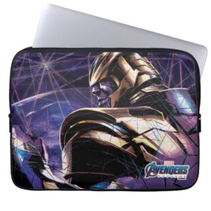 Avengers: Endgame | Thanos Fractured Graphic Computer Sleeve
