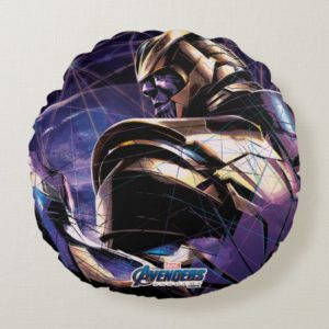 Avengers: Endgame | Thanos Fractured Graphic Round Pillow