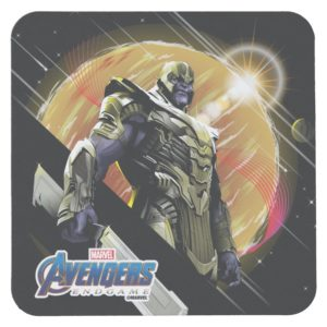 Avengers: Endgame | Thanos Planetary Graphic Square Paper Coaster