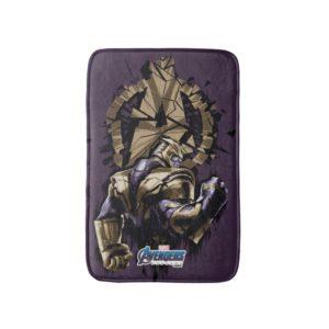 Avengers: Endgame | Thanos Shattered Avengers Logo Bath Mat