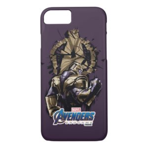 Avengers: Endgame | Thanos Shattered Avengers Logo Case-Mate iPhone Case