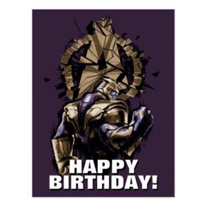 Avengers: Endgame | Thanos Shattered Avengers Logo Postcard