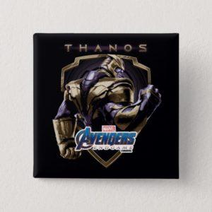 Avengers: Endgame | Thanos Shield Graphic Button