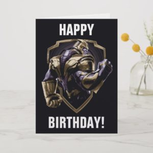 Avengers: Endgame | Thanos Shield Graphic Card