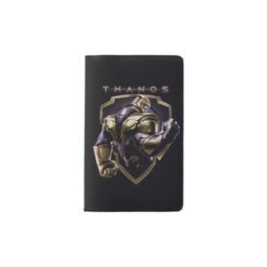 Avengers: Endgame | Thanos Shield Graphic Pocket Moleskine Notebook