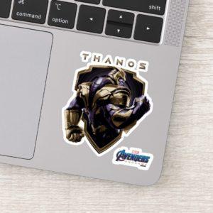 Avengers: Endgame | Thanos Shield Graphic Sticker