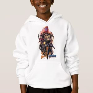 Avengers: Endgame | Thanos & Avengers Run Graphic Hoodie