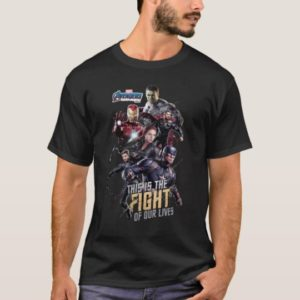 "Avengers: Endgame | ""Fight Of Our Lives"" Avengers T-Shirt"
