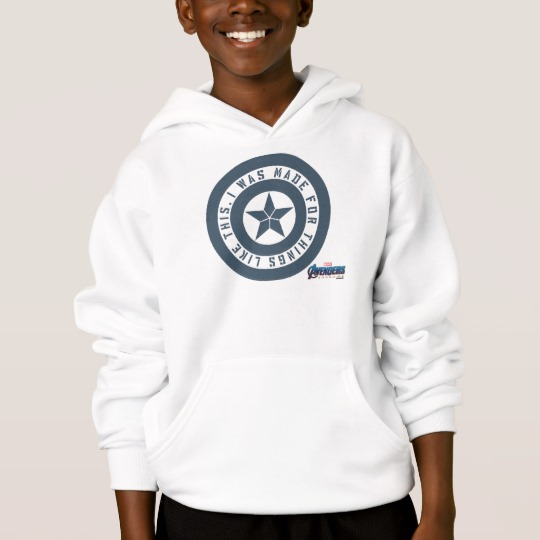 "Avengers: Endgame | Captain America ""I Was Made"" Hoodie"