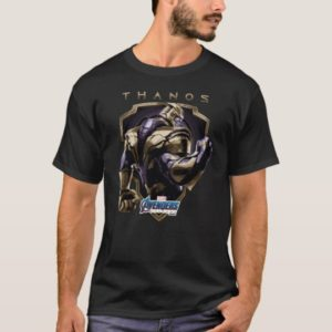 Avengers: Endgame | Thanos Shield Graphic T-Shirt