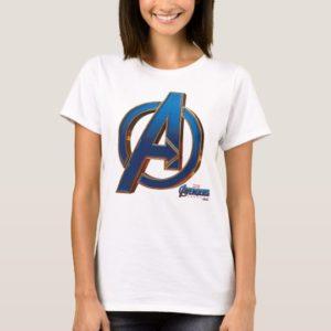 Avengers: Endgame | Avengers Blue & Gold Logo T-Shirt