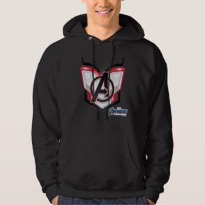 Avengers: Endgame | Avengers Chest Panel Logo Hoodie