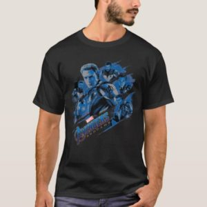 Avengers: Endgame | Blue Avengers Group Graphic T-Shirt