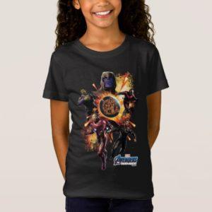 Avengers: Endgame | Thanos & Avengers Fire Graphic T-Shirt