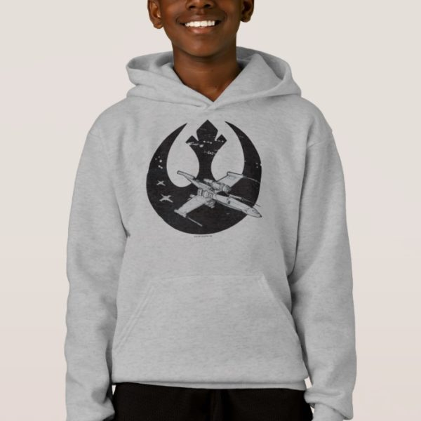 Alliance Starbird | X-Wing & Y-Wing Concept Art Hoodie