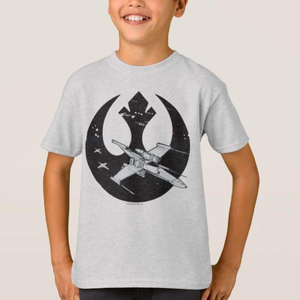 Alliance Starbird | X-Wing & Y-Wing Concept Art T-Shirt