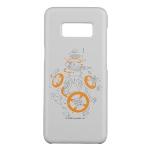 BB-8 Exploded View Drawing Case-Mate Samsung Galaxy S8 Case